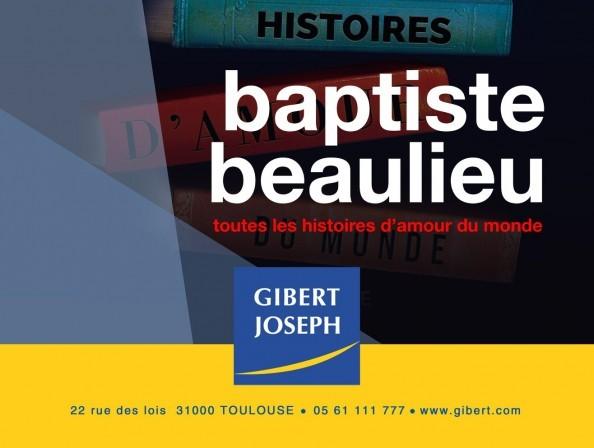 Baptiste Beaulieu en dédicace à Gibert Joseph Toulouse