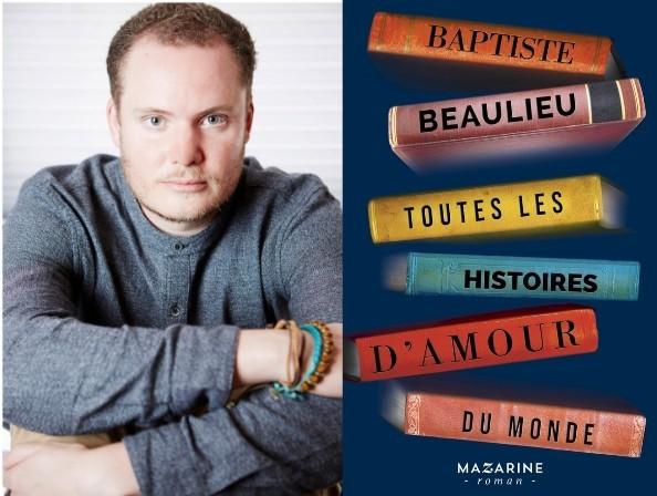 Baptiste Beaulieu à la librairie Le Divan