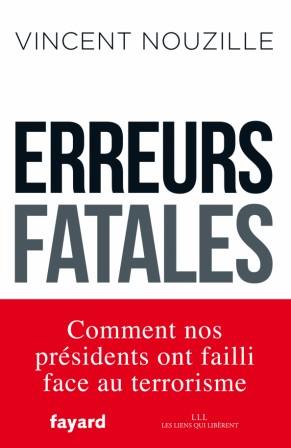 Couverture du livre Erreurs Fatales
