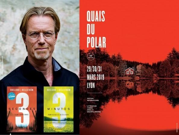 Anders Roslund au Festival Quais du polar (Lyon)