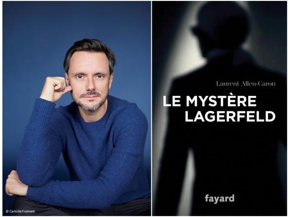 Laurent Allen-Caron - Le Mystère Lagerfeld - Dédicace au Fouquet's
