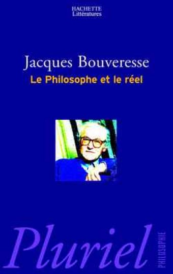 Le philosophe et le réel