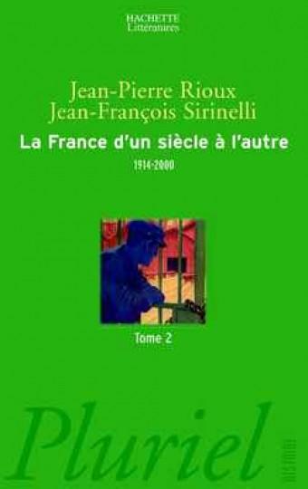 La France d'un siècle à l'autre, T II