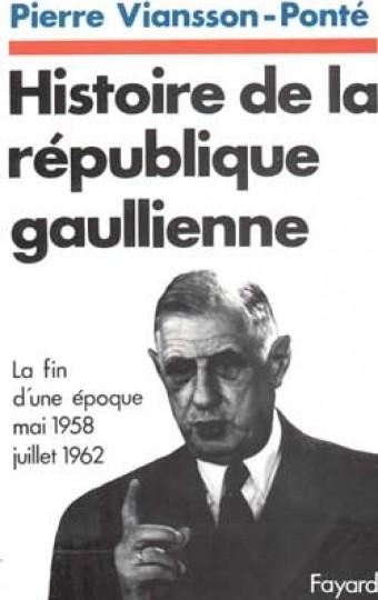 Histoire de la république gaullienne