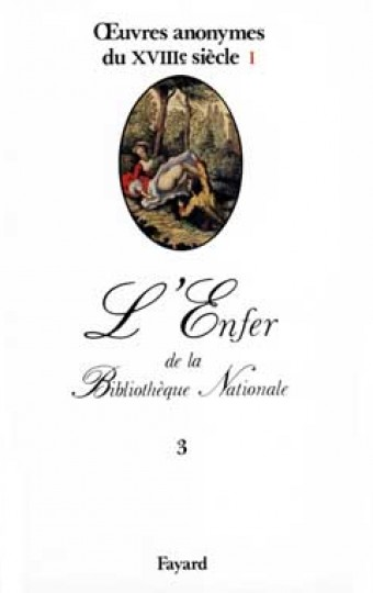 oeuvres anonymes du XVIIIe siècle, I
