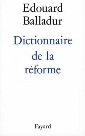 Dictionnaire de la réforme