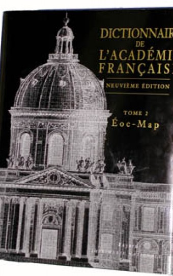 Dictionnaire de l'Académie française Tome 1