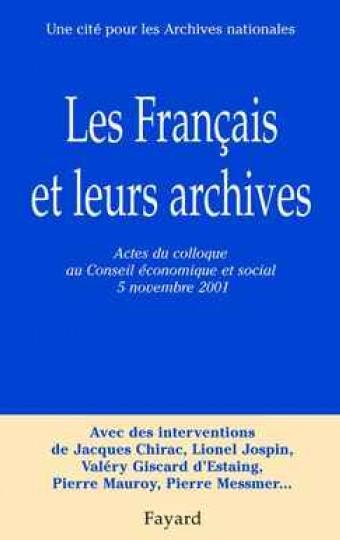 Les Français et leurs archives