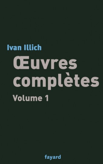 Oeuvres complètes, tome 1