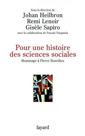 Pour une histoire des sciences sociales