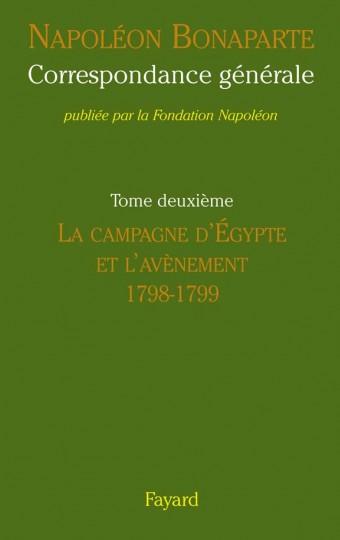 Correspondance générale de Napoléon, tome 2