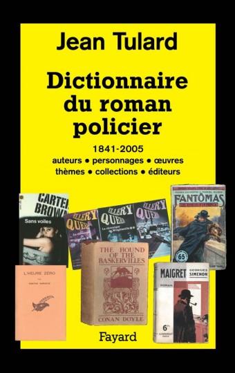 Dictionnaire d'un roman policier