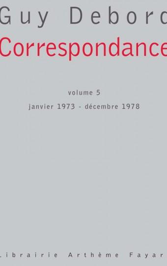 Correspondance, volume 5