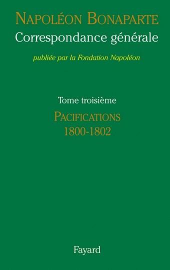 Correspondance générale, Tome III