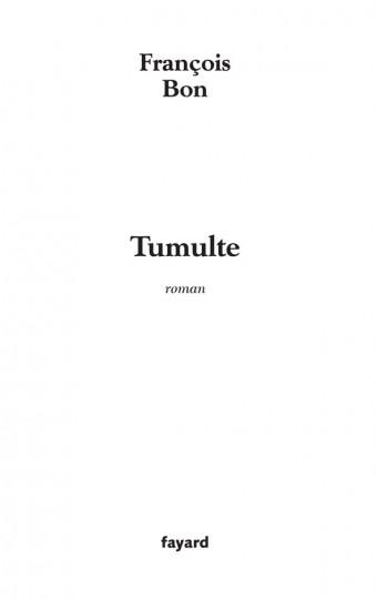 Tumulte