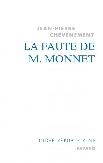 La Faute de M. Monnet