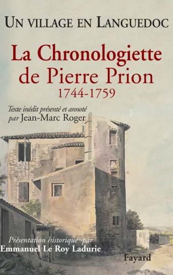 La Chronologiette de Pierre Prion