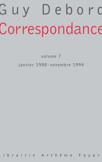 Correspondance Volume 7