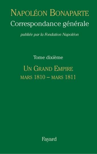 Correspondance générale - Tome 10