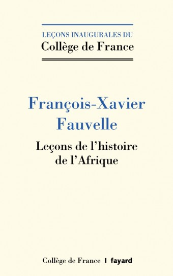 Leçons de l'histoire de l'Afrique