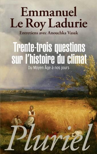 Trente-trois questions sur l'histoire du climat