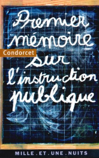 Premier mémoire sur l'instruction publique