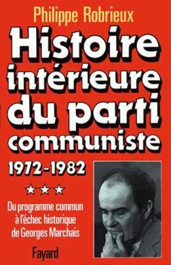 Histoire intérieure du parti communiste