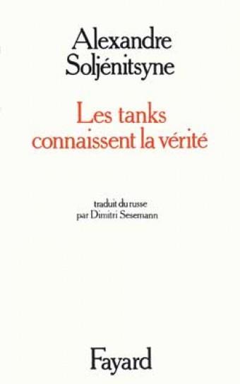 Les Tanks connaissent la vérité