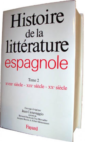 Histoire de la littérature espagnole