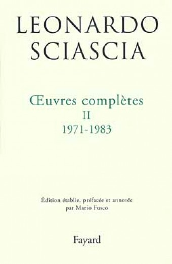 Oeuvres complètes II  1971-1983