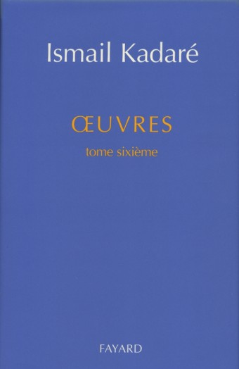 Oeuvres tome sixième