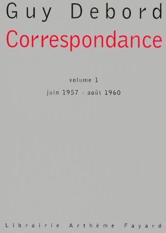Correspondance - volume 1