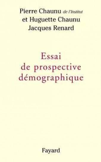 Essai de prospective démographique