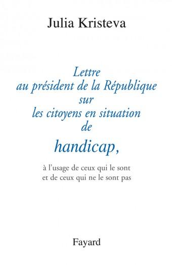 Lettre au président de la République sur les citoyens en situation de handicap,