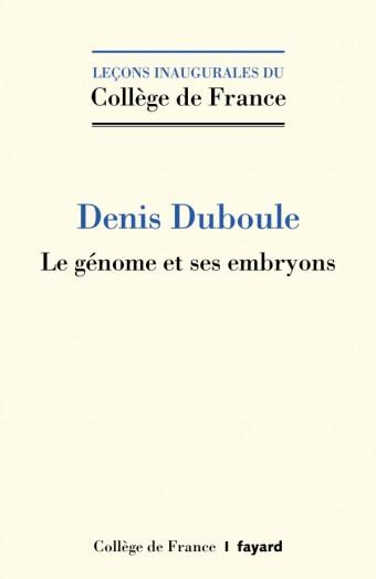 Le génome et ses embryons