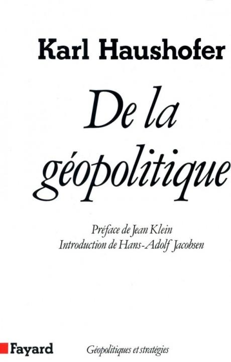 De la géopolitique