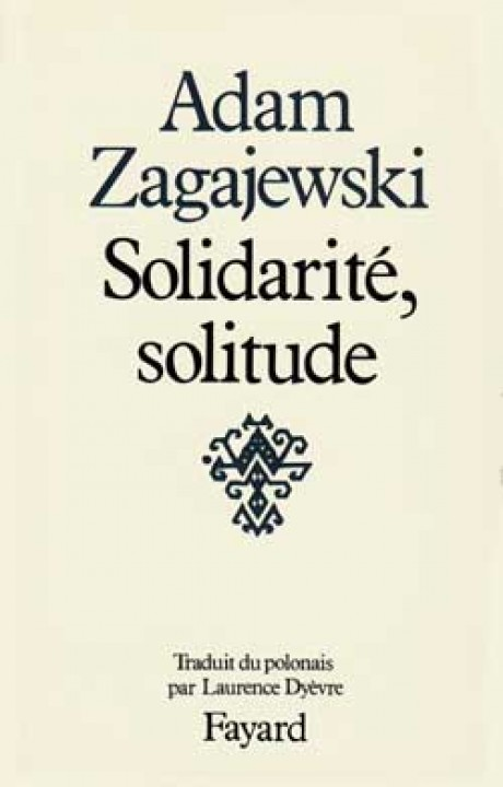 Solidarité, solitude