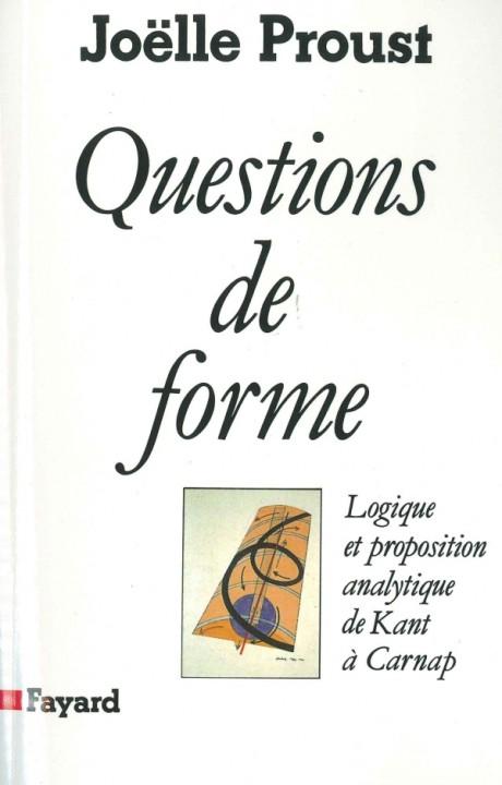 Questions de forme