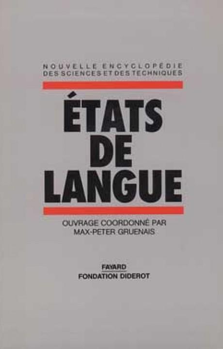 Etats de langue