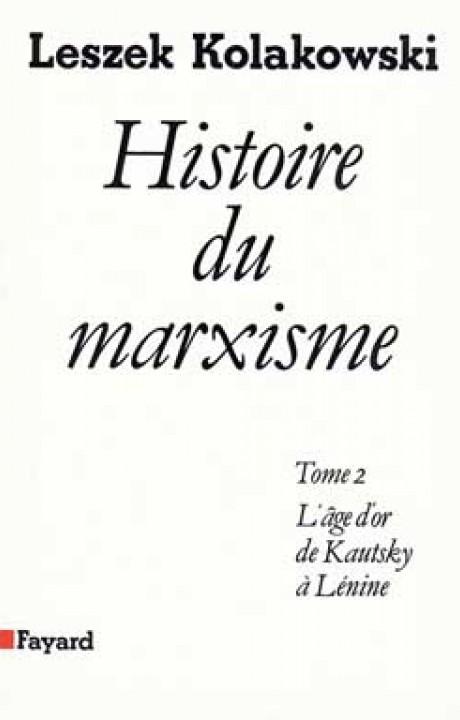 Histoire du marxisme