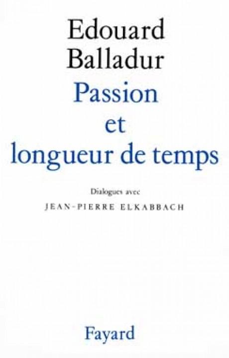 Passion et longueur de temps