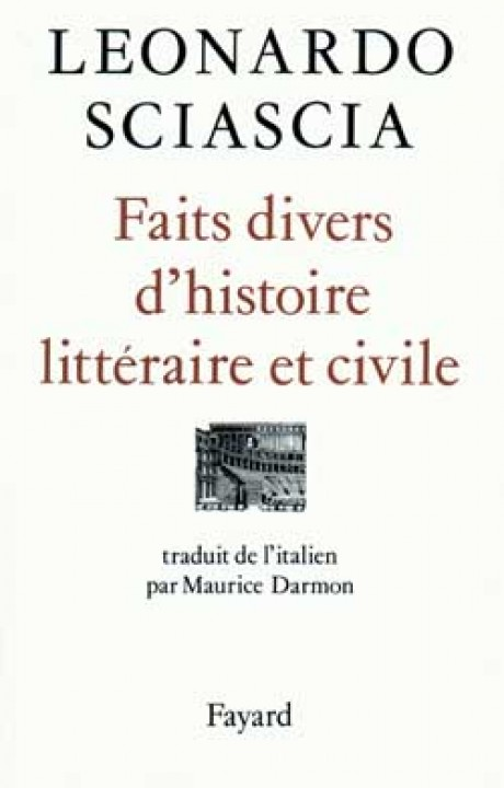 Faits divers d'histoire littéraire et civile