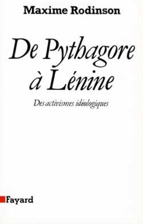 De Pythagore à Lénine