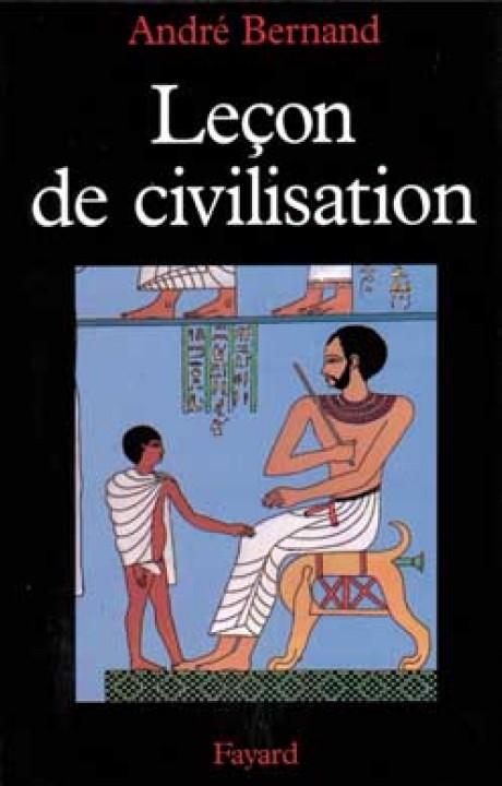 Leçon de civilisation