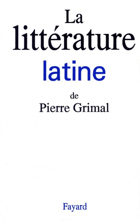 La litterature latine