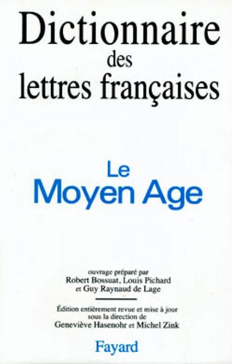 Dictionnaire des lettres françaises