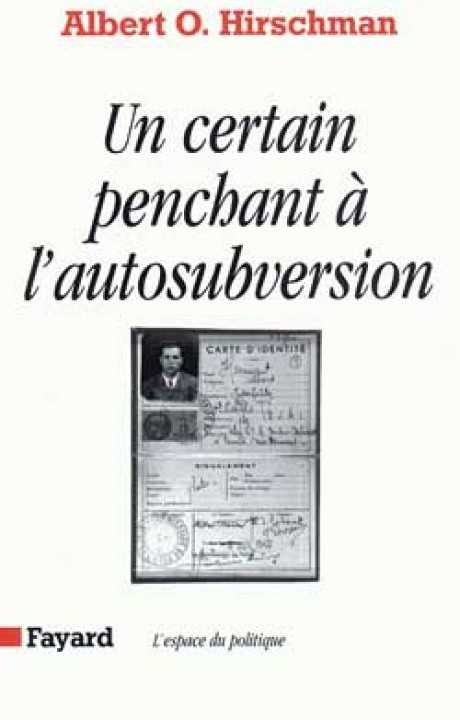 Un certain penchant à l'autosubversion