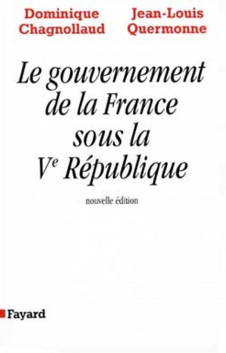 Le Gouvernement de la France sous la Ve République