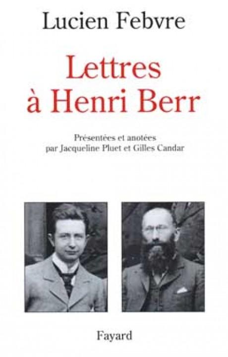 Lettres à Henri Berr