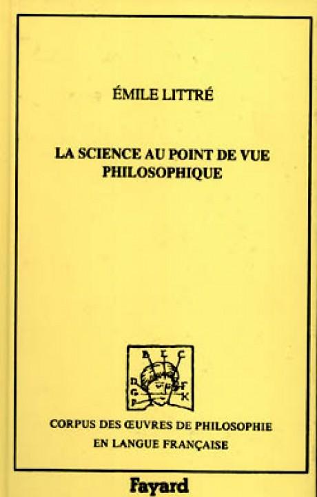 La Science au point de vue philosophique